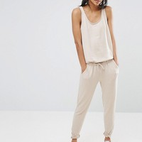 Nocozo Sleeveless Jumpsuit at asos.com