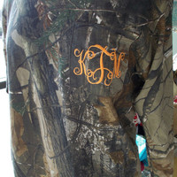 Camouflage Monogram Long Sleeve T-shirt