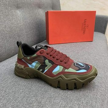 Valentino Woman's Men's 2020 New Fashion Casual Shoes Sneaker Sport Running Shoes 0316gh