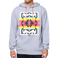 Neff Paso Grey Pullover Hoodie at Zumiez : PDP