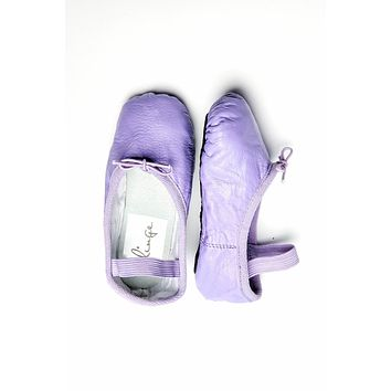 Purple Kids Ballet Flats