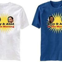 Community Troy and Abed in the Morning Adult T-Shirt - Community - | TV Store Online