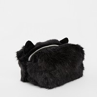 ASOS Furry Kitty Makeup Bag