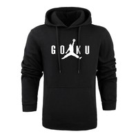 Anime Hoodies Dragon Ball Z Pocket Hooded Sweatshirts Kid Goku Jordan Hoodies Pullovers Men Women Long Sleeve Outerwear New Hood