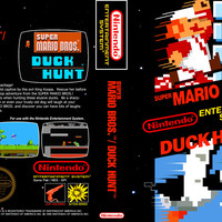 Super Mario Bros and Duck Hunt - Nintendo NES (Ugly Game Only)