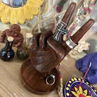 Peace Sign Jewelry Holder