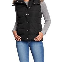 Women's Hooded Quilted Vests