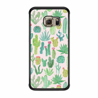 cactus pattern case for samsung galaxy s6 s6 edge