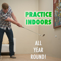 Floppy Indoor Golf Ball: Practice your short game anywhere, anytime