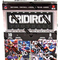 2012 Panini Gridiron Gear NFL Football Collector's Cards Blaster Box - 8 packs  10 cards