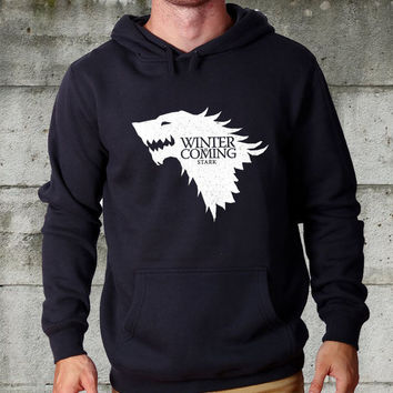 winter is coming game of the thrones Hoodie unisex adults Size S to 2XL