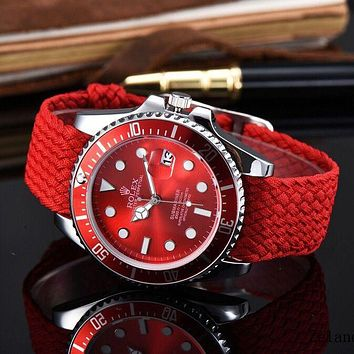 Rolex Women Fashion Quartz Movement Watch