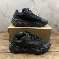 Morechoice Tuhl Adidas Yeezy Boost 700 Mnvn Triple Black Hollow Running Shoes Low Sneaker Breathable Jogging Shoes Fv4440