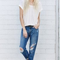 Bullhead Denim Co. Pinky Wash Ripped Skinny Boyfriend Jeans at PacSun.com