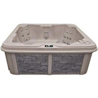 Coleman Spas, 5-Person 30-Jet Lounger Spa with Easy Plug-N-Play and LED Waterfalls, CO-R630L-A-C at The Home Depot - Mobile