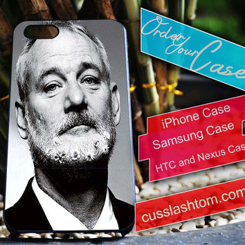 Exclusive Bill Murray iPhone for 4 5 5c 6 Plus Case, Samsung Galaxy for S3 S4 S5 Note 3 4 Case, iPod for 4 5 Case, HtC One M7 M8