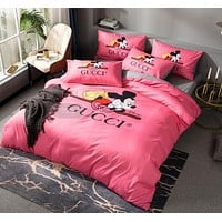 Fashionable Designer Bedding Sets Pink