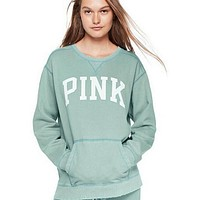 """""""PINK"""" Victoria's Secret Shirt Pullover Sweater Blouse Top(7-Color) Light green"""