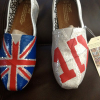 One Direction Inspired Shoes