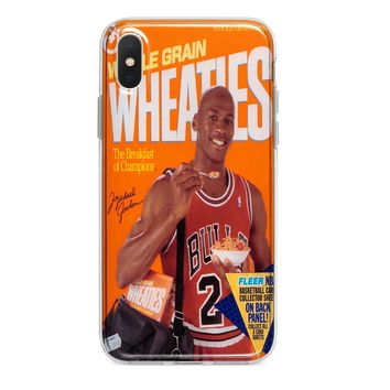 WHEATIES MJ MICHAEL JORDAN CUSTOM IPHONE CASE