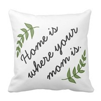 Home is where your mom is mother's day gift modern