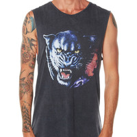 THRILLS PANTHER MUSCLE TANK - BLACK