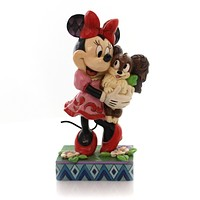 Jim Shore FURREVER FRIENDS Polyresin Minnie Fifi Disney 4048657