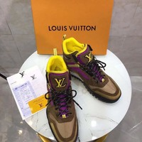 Louis Vuitton Lv Hiking High Top Men Sneaker Reference #10701