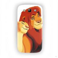 Simba And Nala Lion King Hakuna Matata For Samsung Galaxy S3 Case
