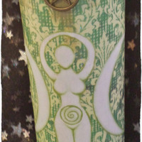 Earth Goddess 7 Day Candle: Wicca, Pagan, Witchcraft