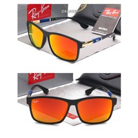RAY.BAN Fashion men and women color film sunglasses