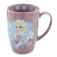 Licensed cool 2014 Disney Store EXCLUSIVE FROZEN ICE QUEEN ELSA  Ceramic Latte Coffee Mug Cup
