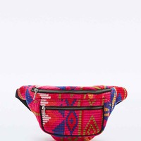 Tapestry Bum Bag in Pink - Urban Outfitters