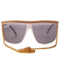 NEFF The Jam Sunglasses in White : Karmaloop.com - Global Concrete Culture