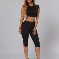 Hooked On You Top - Black