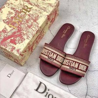 shosouvenir Dior Flat bottom slippers 6 colors