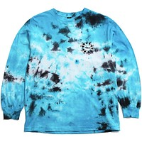 Many Hands Longsleeve T-Shirt Blue Tie-Dye
