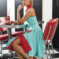 Vintage style overal and skirt By TiCCi