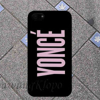 Yonce For iPhone 4 4S iPhone 5 5S 5C and Samsung Galaxy S3 S4 Case