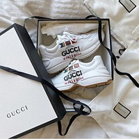 GUCCI Retro jogging shoes-17