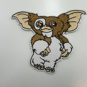 Gizmo Gremlins Movie embroidered iron on patch
