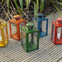 Candle Lantern Reclaimed Outdoor or Indoor