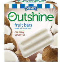 Walmart: Dreyer's Outshine Creamy Coconut Fruit Bars, 6 count, 16.1 oz