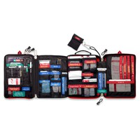 Chaos Hospital: Safe Wilderness Survival Car Travel First Aid Emergency Kit- a Treatment Pack with 4 Sections
