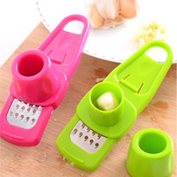 Kitchen Box Multi-function Garlic Press [11499077583]