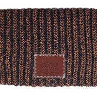 Black and Orange Speckled Beanie - Love Your Melon