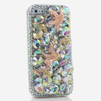 AB Crystals with Doves Design (style 700)