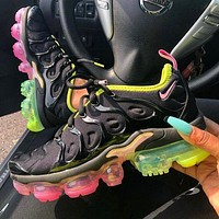 Nike Air Vapormax Plus Women's Fashion Running Rainbow Air Cushion Sneakers Sneakers