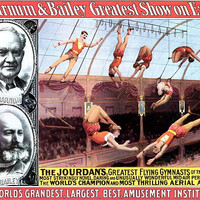 Thrilling Aerial Artists Circus Poster