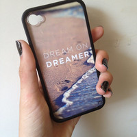Dreamer Case iPhone 44s by BluWatermelonDesigns on Etsy